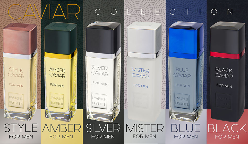 e945af9f7 Caviar Collection by Paris Elysees — Sinue Perfumes